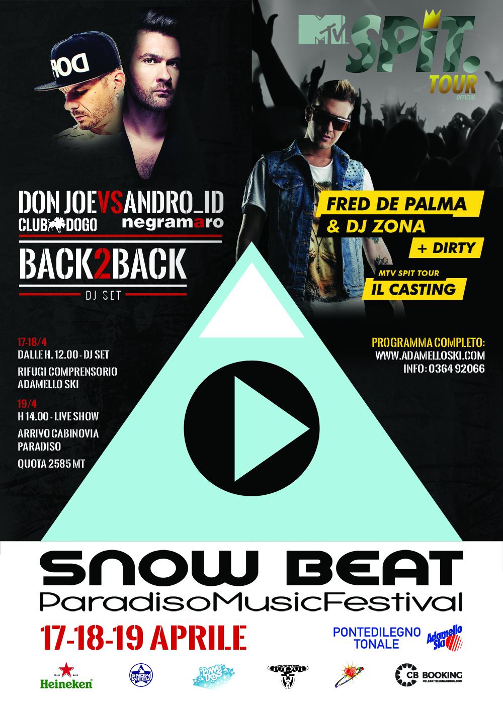 SNOW BEAT - PARADISO MUSIC FESTIVAL