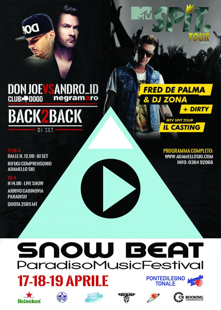 SNOW BEAT - PARADISO MUSIC FESTIVAL